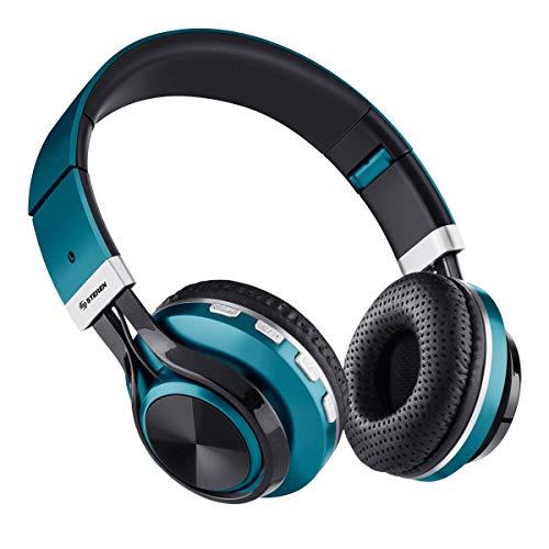 STEREN Audífonos Bluetooth con Reproductor MP3 y Manos Libres
