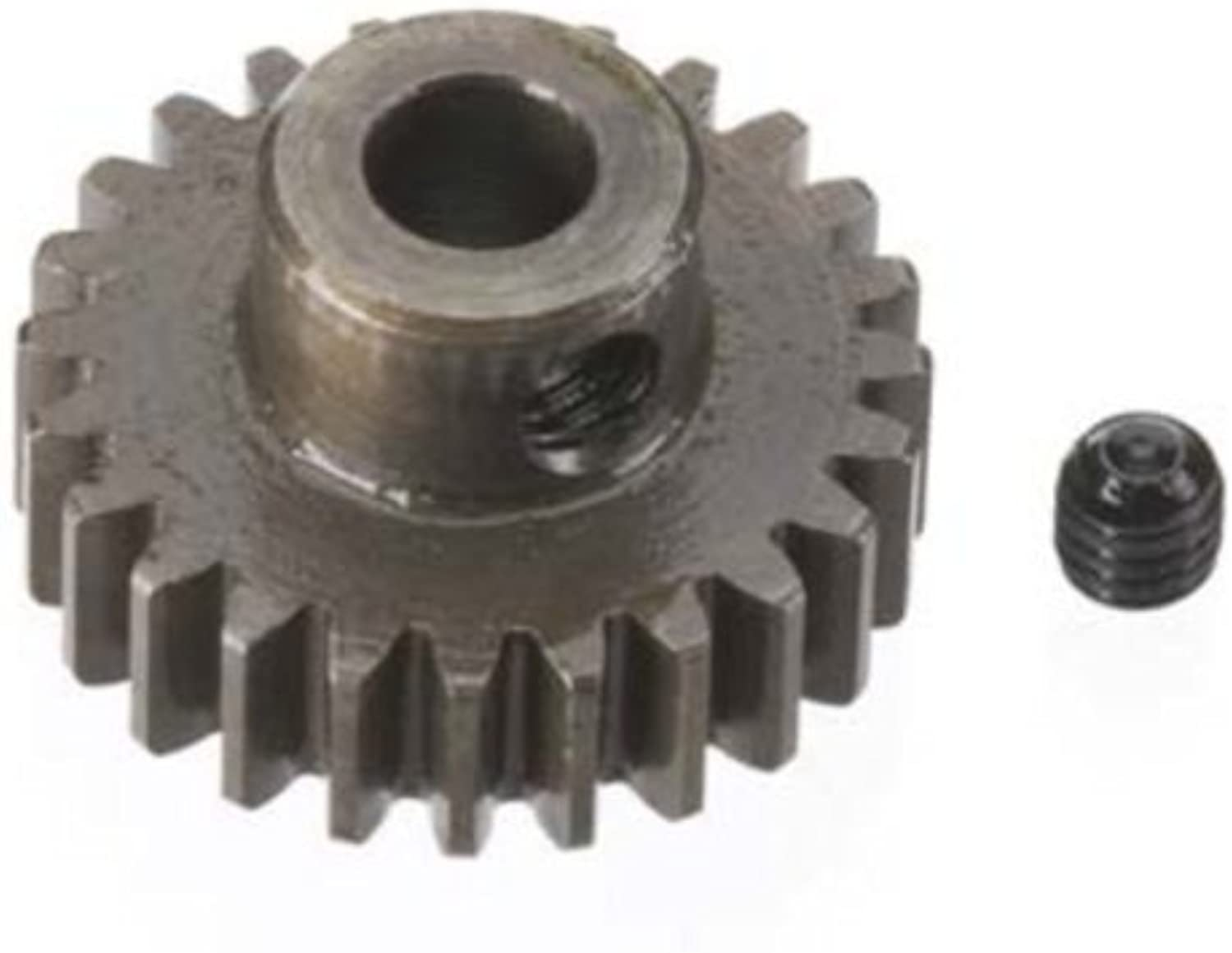 Robinson Racing Products 8724 Hard Bore 0.8 Module Pinion Gear 24T, 5mm by HRP (Level 3 Products)