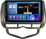 YIJIAREN Navigazione GPS Autoradio per Ho-nda Jazz City 2002-2007, Schermo tattile IPS Android 10.0 Autoradio Stereo Supporta Il Controllo del Volante BT FM Mirror-Link 4G WiFi