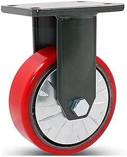 """Op zwaar werk berekende plaat Industriële Metalen Caster Wielen Lading Max 1500 lbs voor Groot Materiaal Grootte Naam: 4 """"..."""