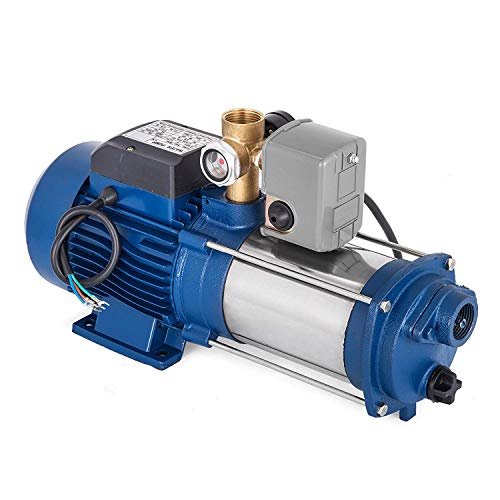 BananaB MC-1800 Kreiselpumpe 1800 Watt Centrifugal Pump 9000 L/h Gartenpumpe Garden Water Pump Drainage Pump mit Steuerung