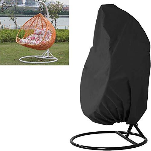 Breale 210D Oxford Tuch Swing Eggshell Stuhl Sitz staubdichte Abdeckung Anti-UV wasserdichte Möbel Staub Abdeckung Home Hanging Organizer