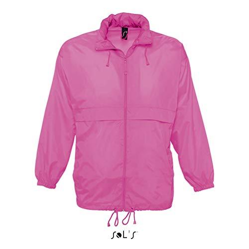 SOL´S Windbreaker Surf, Größe:XXL, Farbe:Neon Pink