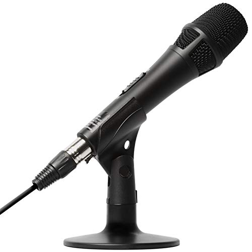 Marantz Pro M4U USB Condenser Microphone, For PCs/Games, Home Work at Home, Mac/PC Compatible, USB Adapter & Cable, Microphone Cable & Desk Stand, Podcast, Afflecco, Karaoke, Video Distribution, Home Recording