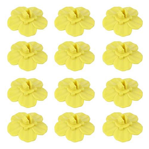 YARNOW Kolibri Feeder für im Freien Hängenden Blumen Papagei Feeder Hängen Automatische Vogel Feeder Wasserflasche Spender Wasserbecher Vogel Futterbehälter für Vogelgarten 12Pcs