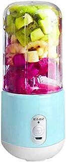 ZH~K Portable Presse-Agrumes électriques 260ml 4 Feuilles Lame électrique USB Juicer Fruit extracteur de jus de Fruits Ble...