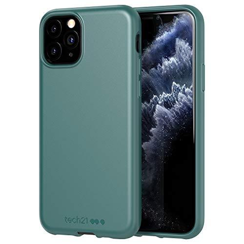 tech21 Studio Colour Mobile Phone Case – Compatible with iPhone 11 Pro – Slim Profile with Anti-Microbial Properties and Drop Protection, Pine