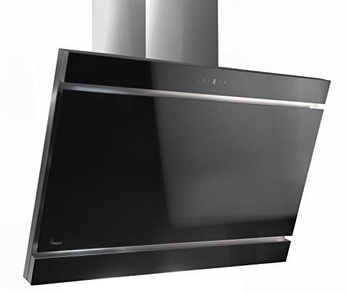 Akpo–Dunstabzugshaube wk-9Kastos schwarz/60cm/605-850M3/H–Dunstabzugshaube-Küche