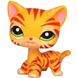 VUBD Pet Shop Kid Toy lps cat pet Shop Toys Real Collection Orange Short Hair Tabby Cat Brown Puppy Dog Great Dane 1451