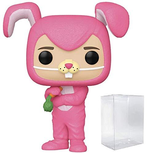 Funko Pop! TV: Friends - Figura de vinilo de Chandler Bing como conejito (con funda protectora de...