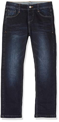 s.Oliver RED LABEL Jungen Regular Fit: Straight leg-Denim dark blue stretche 116.REG