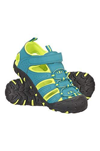 Mountain Warehouse Sandalias de Senderismo Coastal Niños - Sandalias de Neopreno Niños & Niñas, Zapatos de Verano, para la Playa, Caminar, fáciles de Poner Lima 30.5