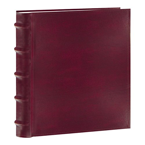 Pioneer Photo Albums CLB-257/BG 200-Pocket European Bonded Leather Photo Album for 5 by 7-Inch Prints, Burgundy