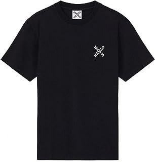 Kenzo New Logo T-Shirt (Colour : Black - Size : Large)