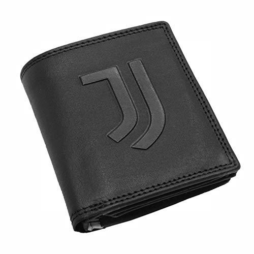 JUVIR #JUVENTUS FC Portafoglio Tasconcino Pelle Portafoglio Tasconcino Pelle, Nessun genere, nero, S (Abbigliamento)