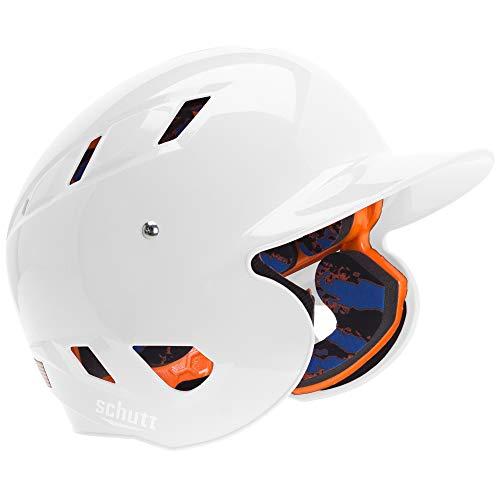 Schutt Sports AiR 5.6 Baseball Batter s Helmet, Large, White