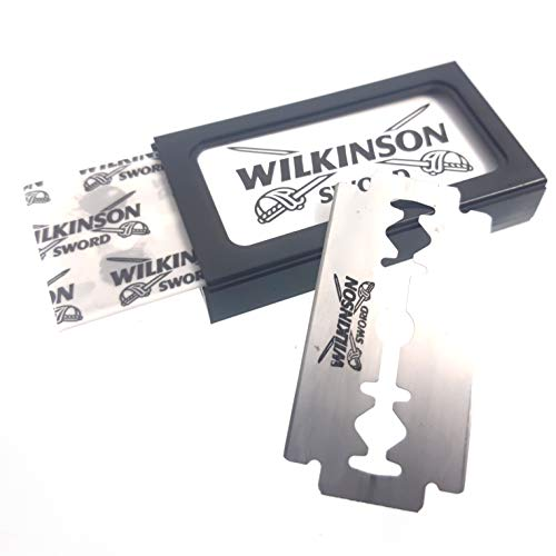 5 stück Wilkinson Sword Klingen Rasierklinge für Rasierhobel Hobel Hobeklingen klassisch Rasierer Rasur Vintage Hobel