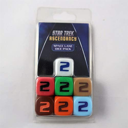 Gale Force Nine ST036 - Star Trek Ascendancy: Space Lane Dice (x7)