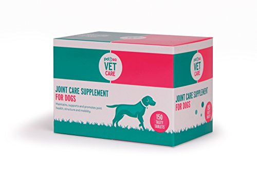 PDSA Joint Care Supplement for Dogs, Medium, 150-Count