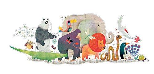 """Riesenpuzzle """"Die Parade der Tiere"""""""