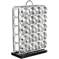 AmazonBasics - Soporte vertical para 20 botes de especias
