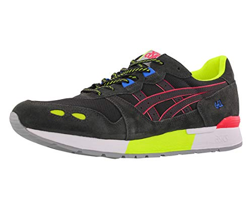 ASICS Men's Gel-Lyte Shoes, 8.5M, Graphite Grey/Laser Pink
