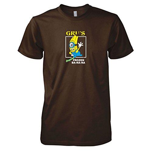 Texlab - Gru\'s Original Frozen Ba-NA-NA - Herren T-Shirt, Größe XL, braun