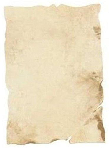 Dokumentenpapier antik 21 x 30 cm hellbraun gemustert 100 Blatt