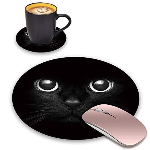 alfombrilla raton gato de la marca BWOOLL