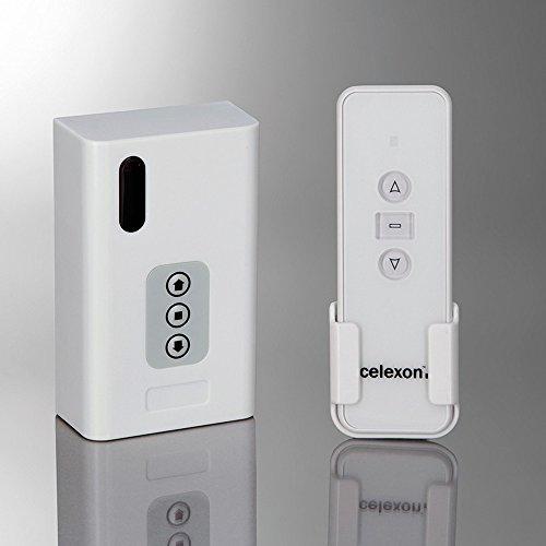 celexon Professional 1-Kanal Funk-Set - Funk-System für Motor-Leinwand oder Deckenlift - 1 Kanal