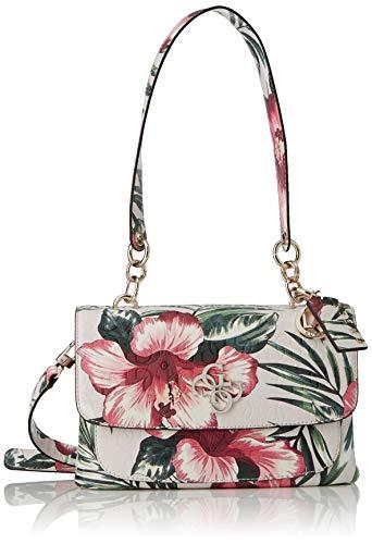 Guess Damen CHIC SHINE SHOULDER BAG Umhängetaschen, Floral, 28x8x16 cm