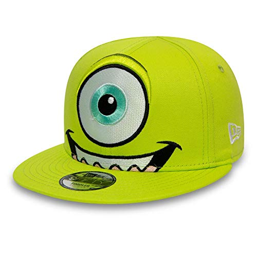 New Era Monster Inc Head Mike Wazowski AG Kids 9fifty 950 Youth Snapback Cap Children