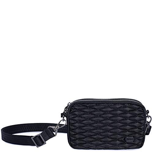 Lug Coupe Cross Body Bag, Midnight Black