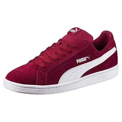 Puma Puma Unisex-Erwachsene Smashsd Sneaker, Rot (Tibetan Red-White), 45 EU