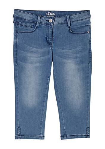 s.Oliver Mädchen Skinny Fit: Capri aus Jeans blue 152.SLIM