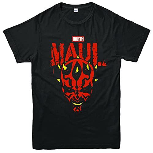 Crimson Dawn Season 1 T-Shirt, Darth Maul Satr Wars Character Action Gifts Top 3XL Black