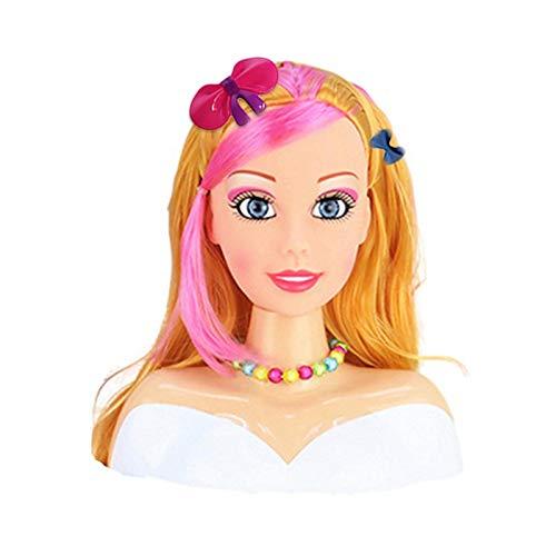 Mädchen Puppe Set Mit Zubehör Mädchen Kleid, Haar, Geflecht, Schminktisch Spielzeug Niedlich Schön