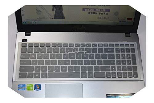 """Funda protectora para teclado de ordenador portátil de 17,3"""" para Asus rog GL752 GL752vw GL752v G550jx G550jk G551j G551vw G551jm G771jw A751sa-Clear-"""