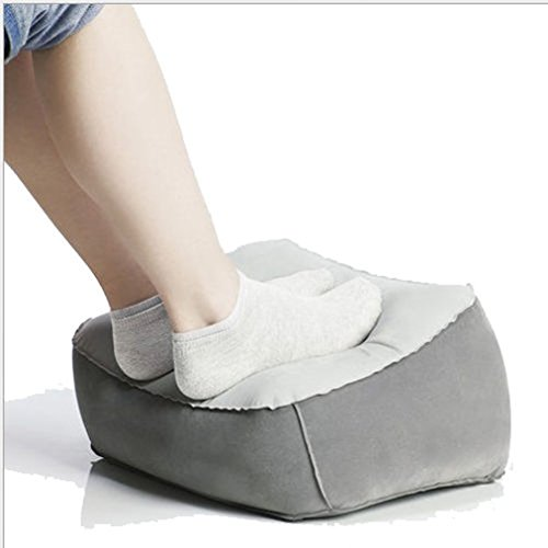 Magic Clover aufblasbares Reise Foot Rest Fußauflage Kissen–Hilft reduzieren DVT Risiko auf Flüge