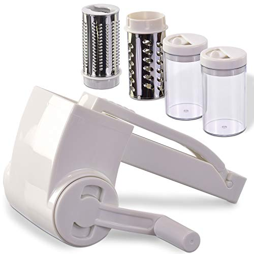 Professional-Grade Rotary Grater