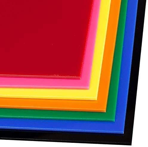SOURCEONE.ORG Premium 1/8 th Inch Thick Acrylic Plexiglass Sheet