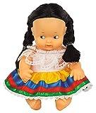 Los Barriguitas - Barriguitas del mundo Costarricense, muñecas clásicas del mundo de 13 cm, edición limitada Costa Rica, juguete para coleccionar, niños a partir de 3 años, FAMOSA (700016810)