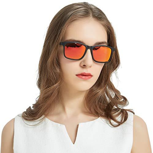 KEECOW Gafas de sol Hombre Polarizadas 100% Protección UV400 Gafas de sol...