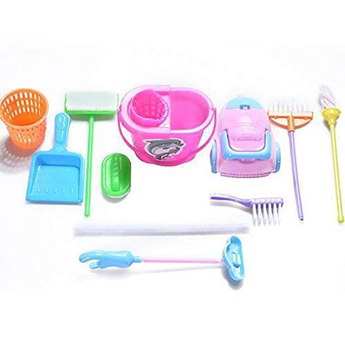 Naisicatar 9pcs / Kit de Limpieza Mini Juego de Limpieza de la...