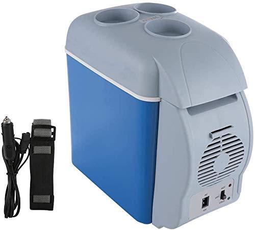 7.5L Mini-Kühlschrank tragbare elektrische Kühler Wärmer Reise Kühlbox Kühlschrank Gefrierschrank Table Top Kühlschrank Ideal für Auto Camping Picknick Kleinen Büro Hotel
