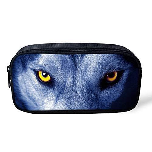 RSHSJCZZY Chidrent Pencil Pouch/Pencil Case/Pencil Bag Student Pencil-box Wolf
