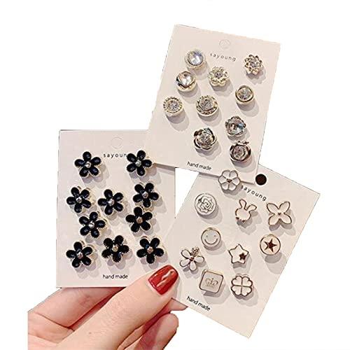 AOJIE Juego de 30 botones para cubrir perlas, botones para camisa y mujer, botones para cubrir el botón, botones para decoración de ropa
