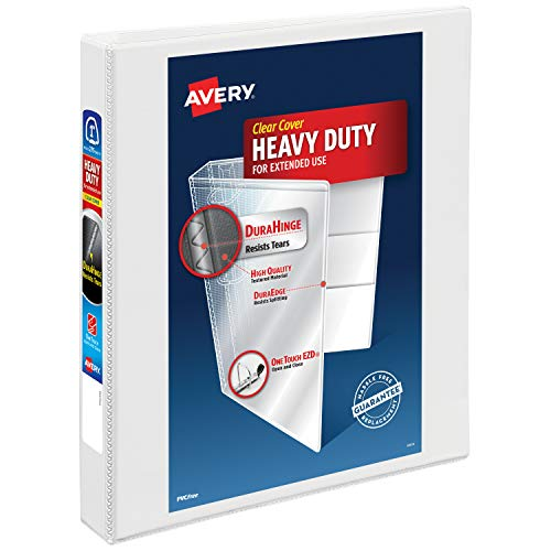 Top 10 three ring binder 1 inch heavy duty staples for 2021