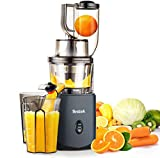 Juicer, Slow Masticating Juicer, Cold Press Juicer Machine Easy to...