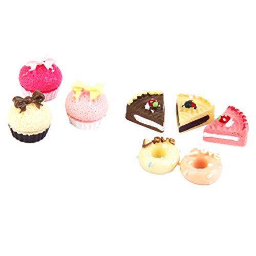 Küche Lebensmittel KuchenPuppenhaus Miniature 1/12